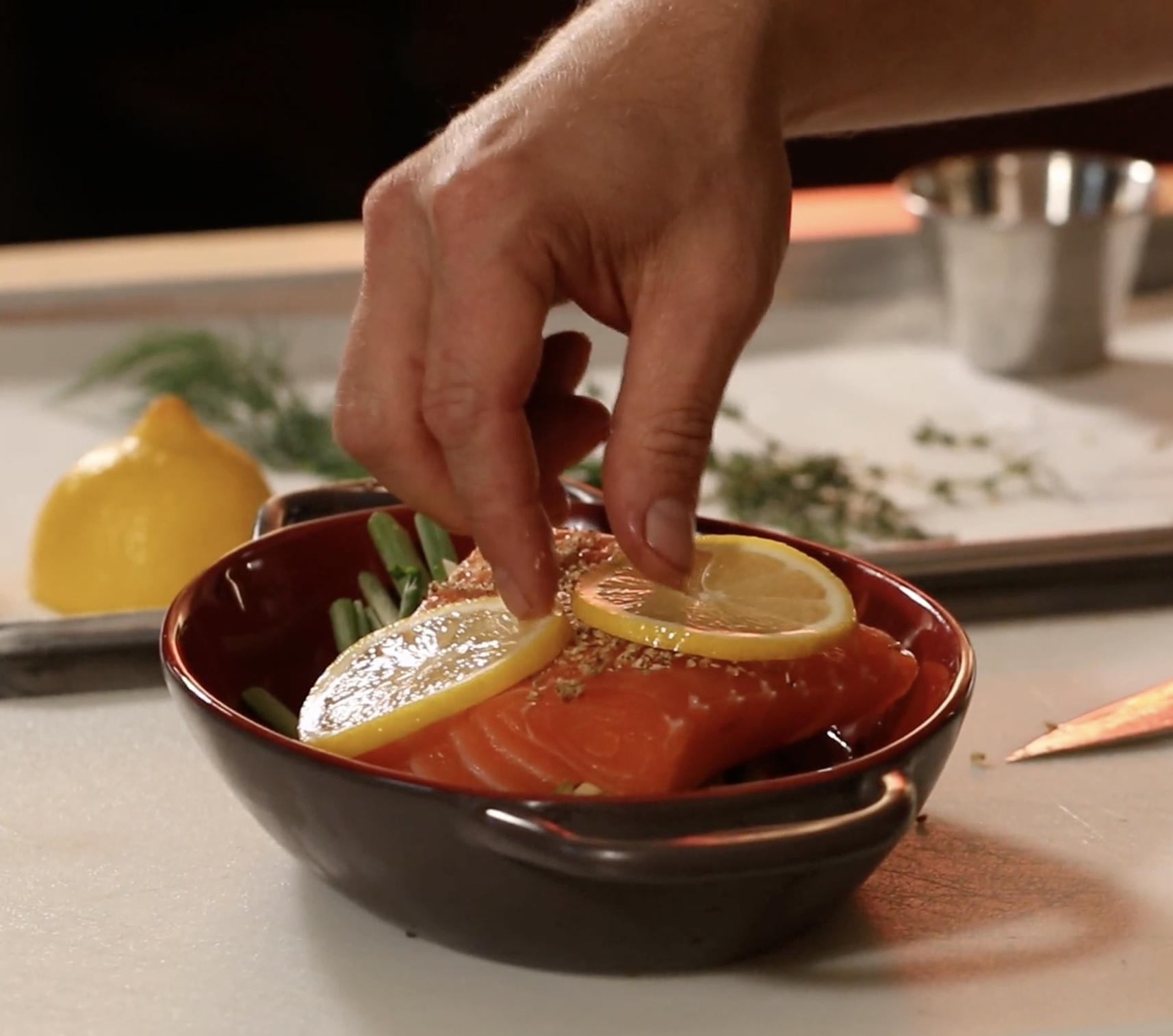 Cooking with Henny Penny Flex Combi: Salmon