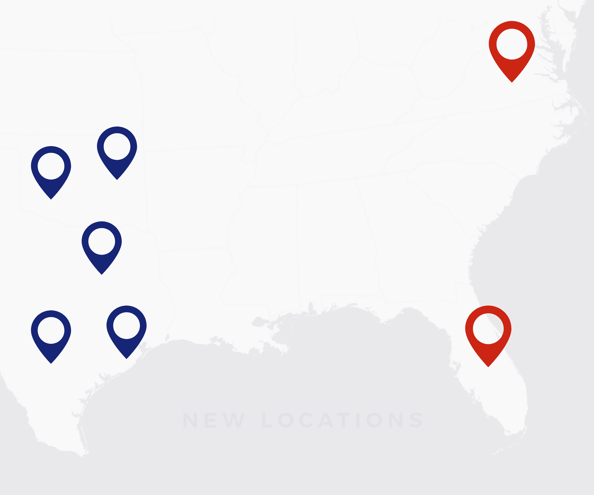 New Locations: Now Serving Florida & Virginia